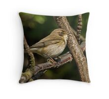 Melodious Warbler Throw Pillow