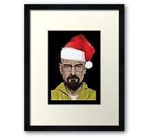 Have a (Walter) White Christmas Framed Print