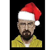 Have a (Walter) White Christmas Photographic Print
