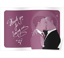 Mystrade - Thank you  Poster