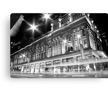 Queen Victoria Building BW Canvas Print