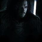 Jon Snow on Black by Tiia Öhman