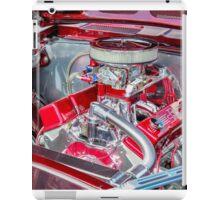 Hot Rod Engine  iPad Case/Skin