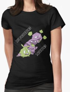 The Pollution Solution Womens Fitted T-Shirt
