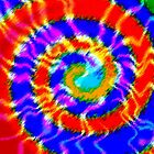 Tie Dye Swirls 3 by Susan Sowers