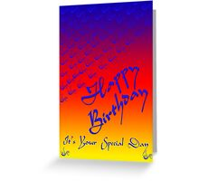 Happy Birthday Special day Greeting Card