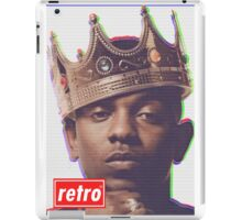 Kendrick Lamar - Retro  iPad Case/Skin