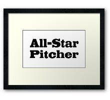 Baseball Framed Print