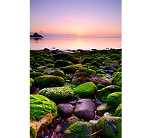 A rocky start Photographic Print