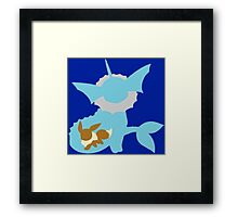 The Water Fox 2 Framed Print