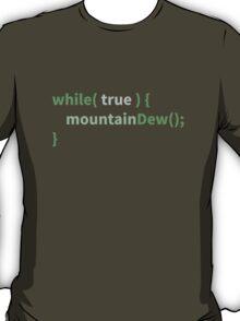 Mountain Dew Logic - Green Mode T-Shirt