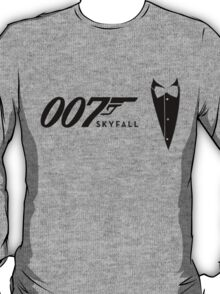 James Bond Tribiute(skyfall) T-Shirt