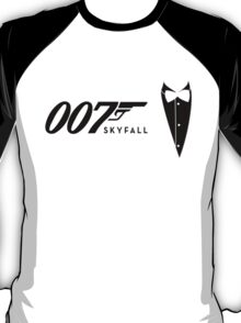 James Bond Tribiute(skyfall) T-Shirt
