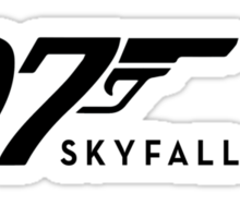 James Bond Tribiute(skyfall) Sticker