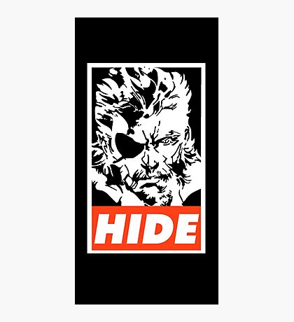 Big Boss Hide Photographic Print