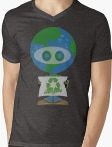 Earth Day Recycle t shirts Mens V-Neck T-Shirt