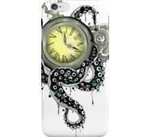 Time Tentacle iPhone Case/Skin