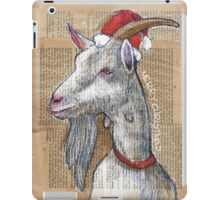Christmas Goat iPad Case/Skin