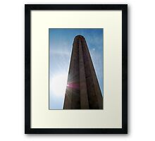 Mid Day at the National World War I Memorial  Framed Print