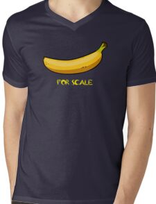 BANANA IS THE BEST SCALE Mens V-Neck T-Shirt