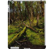 Tasmanian rainforest undergrowth iPad Case/Skin