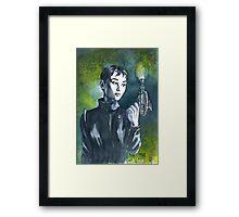 Audrey Sci Fi Framed Print