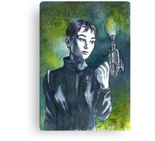 Audrey Sci Fi Canvas Print