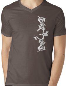 Tribal Om Mens V-Neck T-Shirt