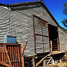 The Old Shearing Shed (Barn)  by Eve Parry