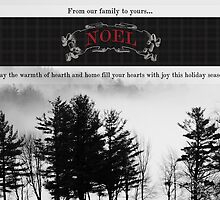 Rolling Fog Seasonal Greeting Card by AndreaBorden