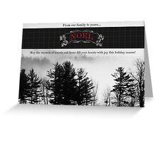 Rolling Fog Seasonal Greeting Card Greeting Card