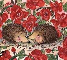 Hedgehogs Valentines by Joanna Bromley