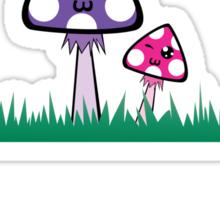 Happy Shroomies! Sticker