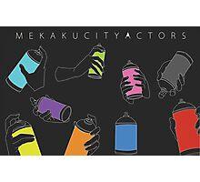 MEKAKUCITY ACTORS Photographic Print