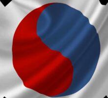 South Korean Flag iPhone / Samsung Galaxy Case Sticker