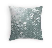 Drops, drops and more drops Throw Pillow