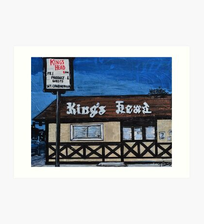 King's Head Inn R.I.P. Art Print
