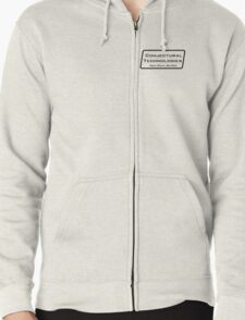 Conjectural Technologies (black) Zipped Hoodie
