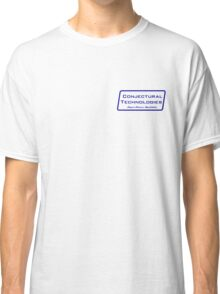 Conjectural Technologies (blue) Classic T-Shirt