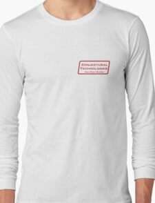 Conjectural Technologies (red) Long Sleeve T-Shirt