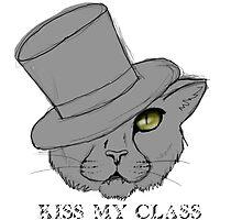 Classy Cat Photographic Print