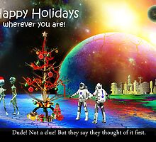 Happy Holidays! (it's Universal) by Nadya Johnson