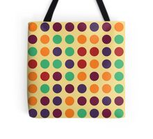 Retro Polka Dot Pattern Tote Bag