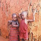 Masai Children by Rebecca Silverman
