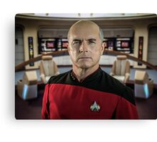 Pensive Picard Canvas Print