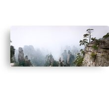 Zhangjiajie National Forest Park panoramic scenery art photo print Canvas Print