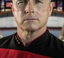 Pensive Picard Sticker