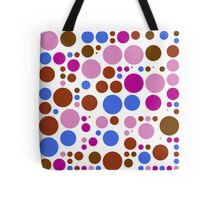 Retro Polka Dot Pattern #4 Tote Bag