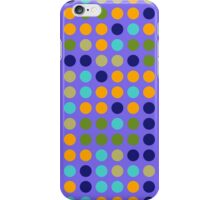 Retro Polka Dot Pattern #5 iPhone Case/Skin