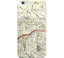 NORTHERN PACIFIC RAILWAY MAP 1900 iPhone Case/Skin